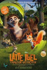 Download Latte & the Magic Waterstone Full Movie Hindi 720p