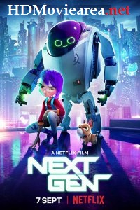 Next Gen (2018) Dual Audio (Hindi-English) Web-DL 720p x264 | HEVC