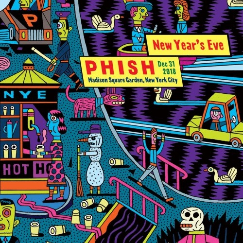Phish 2018 12 31 Madison Square Garden New York NY