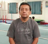 Profesor Antonino Prado - Técnico Club de Gimnasia IRFE