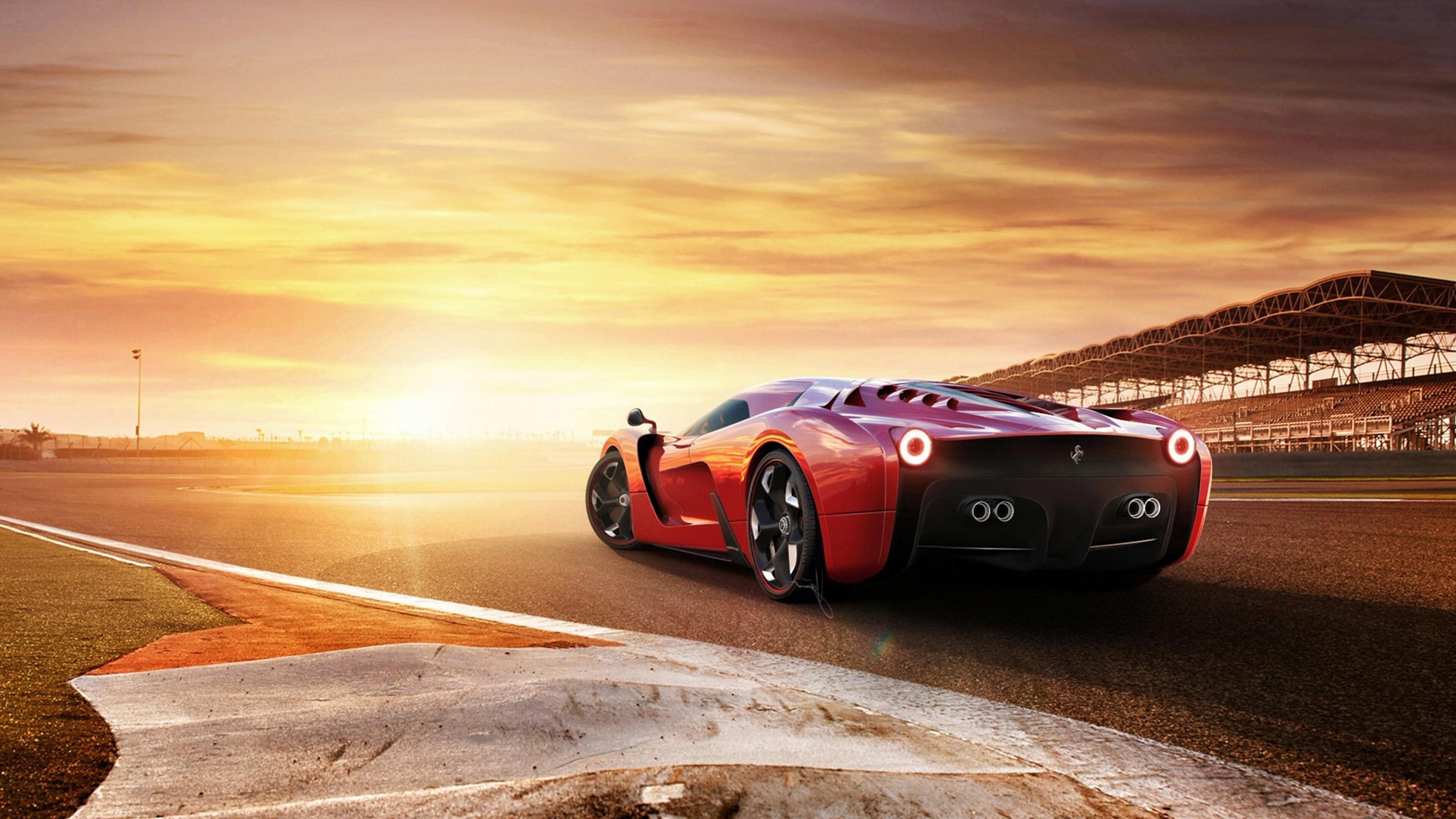 3840x2160 Ferrari 458 Concept Car 4k HD 4k Wallpapers