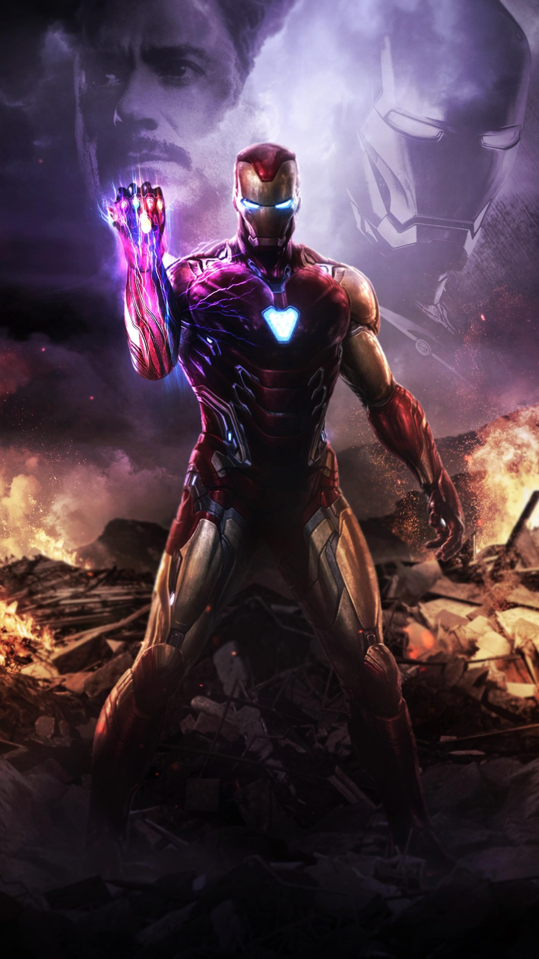 Iron Man Wallpaper 4k For Android Bestpicture1org