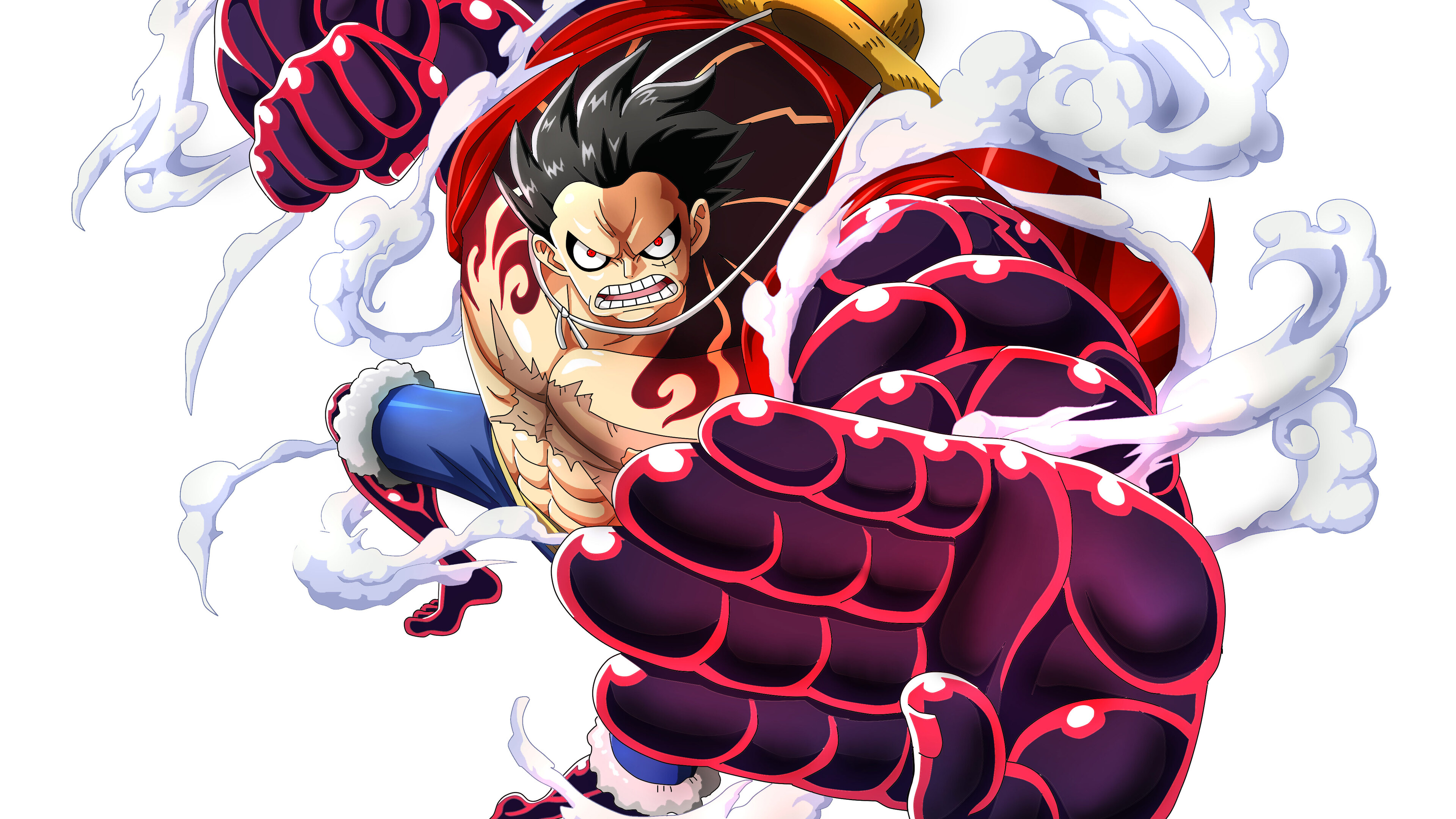 Perfect screen background display for desktop, iphone, pc, laptop, computer,. 3840x2160 Monkey D Luffy One Piece 4k HD 4k Wallpapers ...