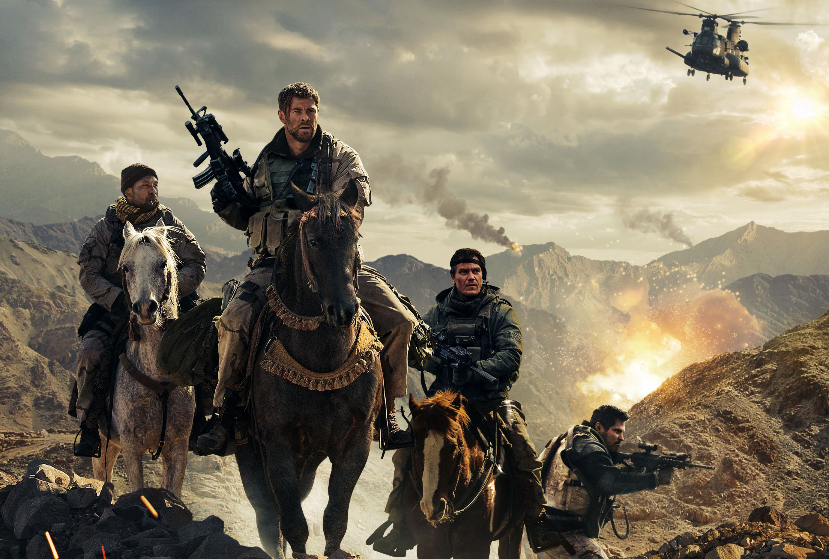 12 Strong Movie, HD Movies, 4k Wallpapers, Images, Backgrounds, Photos and Pictures