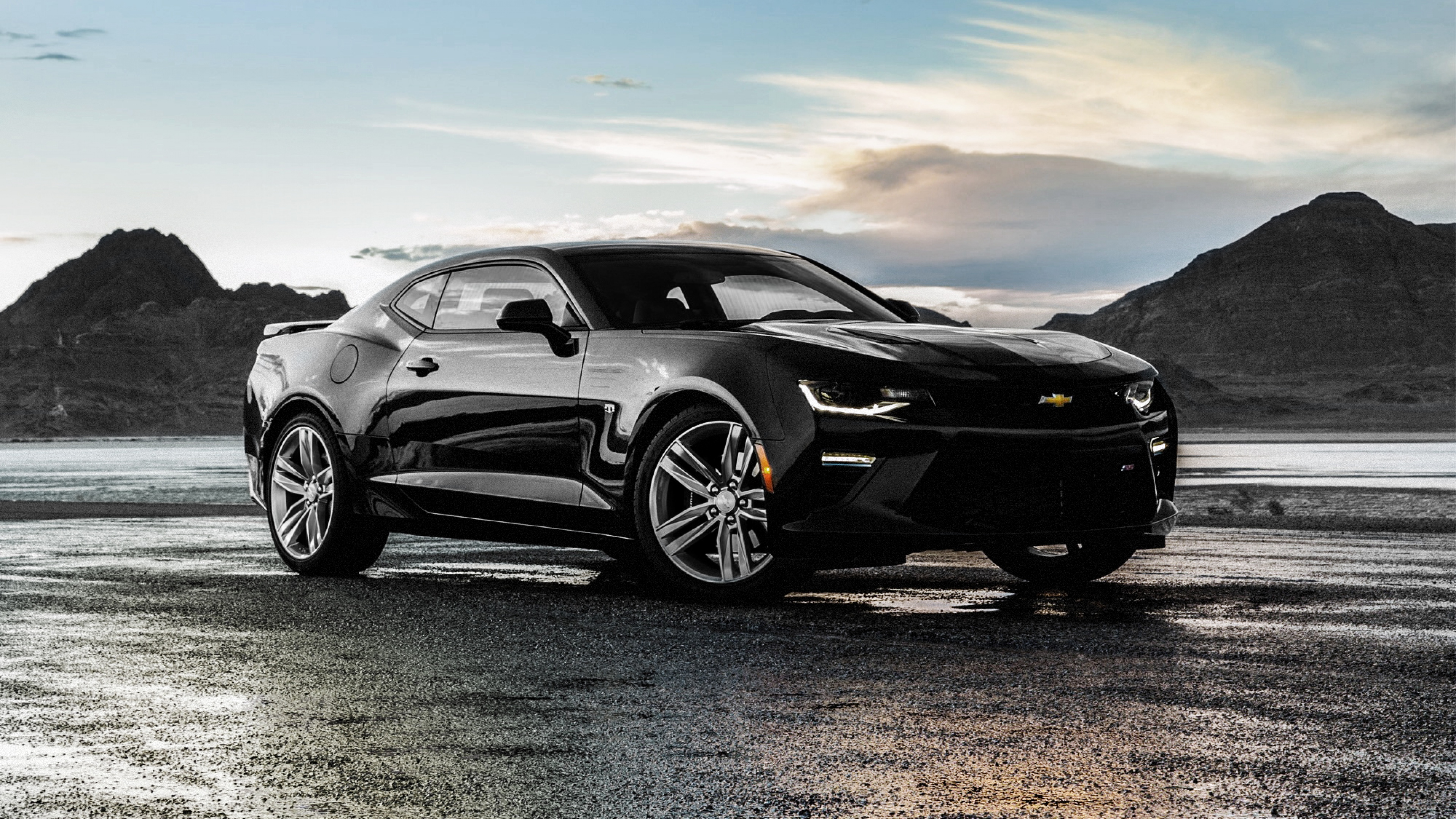 1280x1024 Chevrolet Camaro SS Black 1280x1024 Resolution