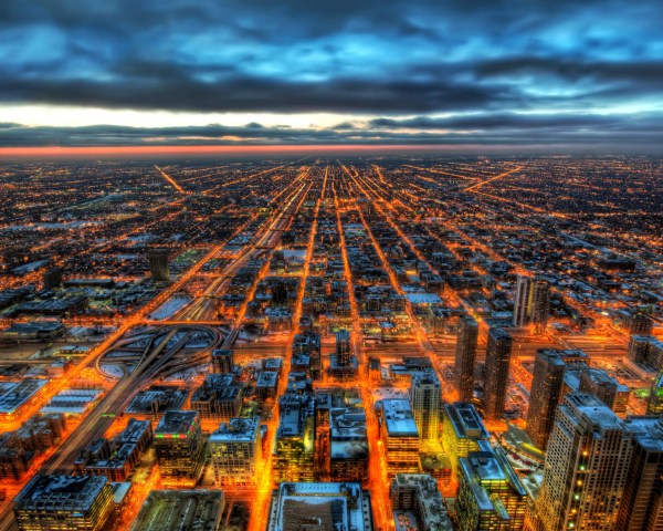 Chicago HDR, HD World, 4k Wallpapers, Images, Backgrounds ...