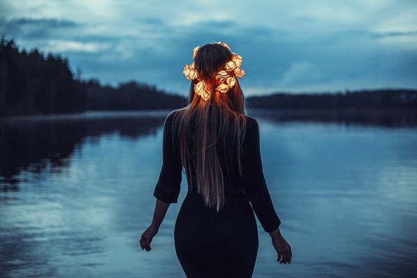 Girl With Light Crown, HD Girls, 4k Wallpapers, Images ...