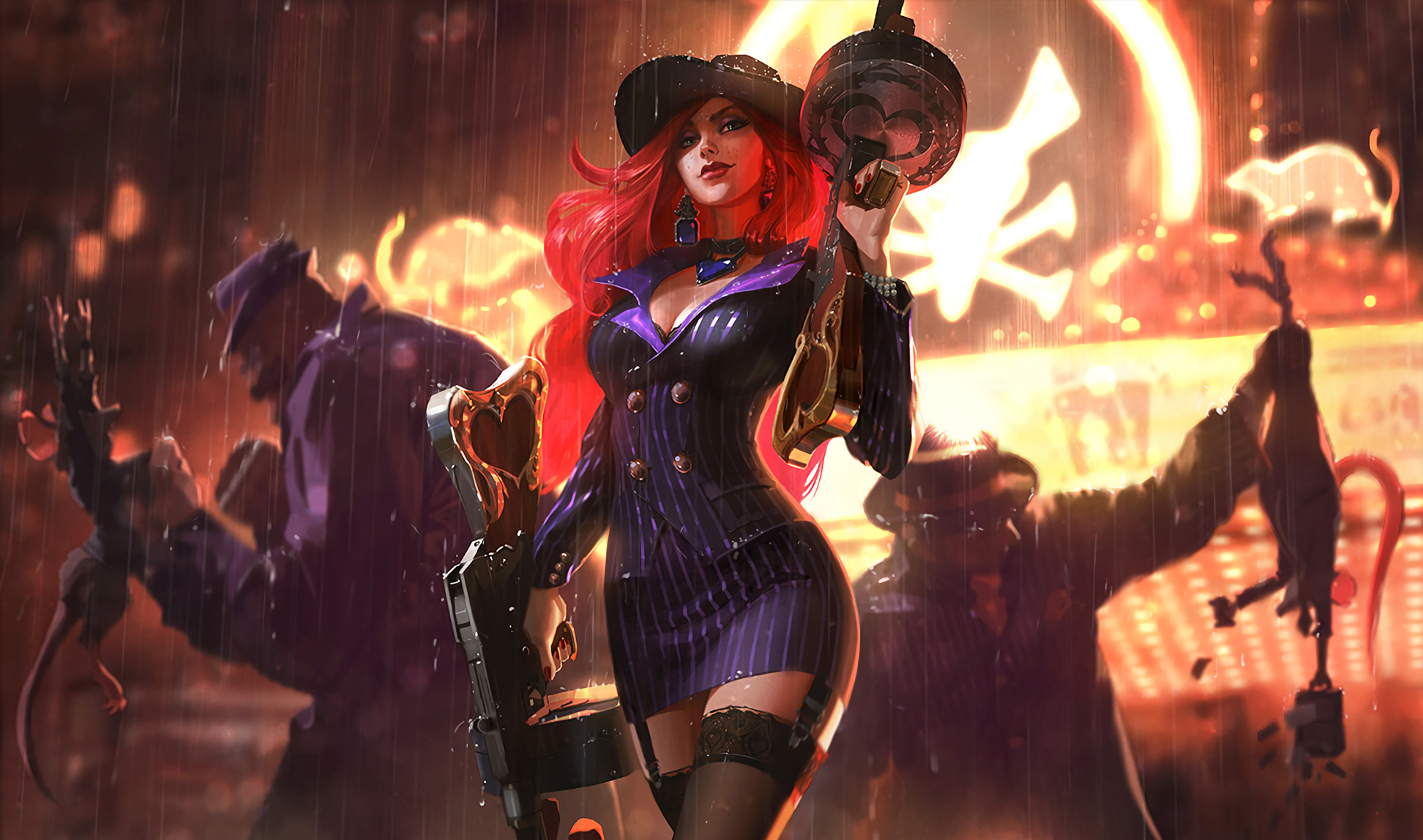 Miss Fortune League Of Legends HD Games 4k Wallpapers
