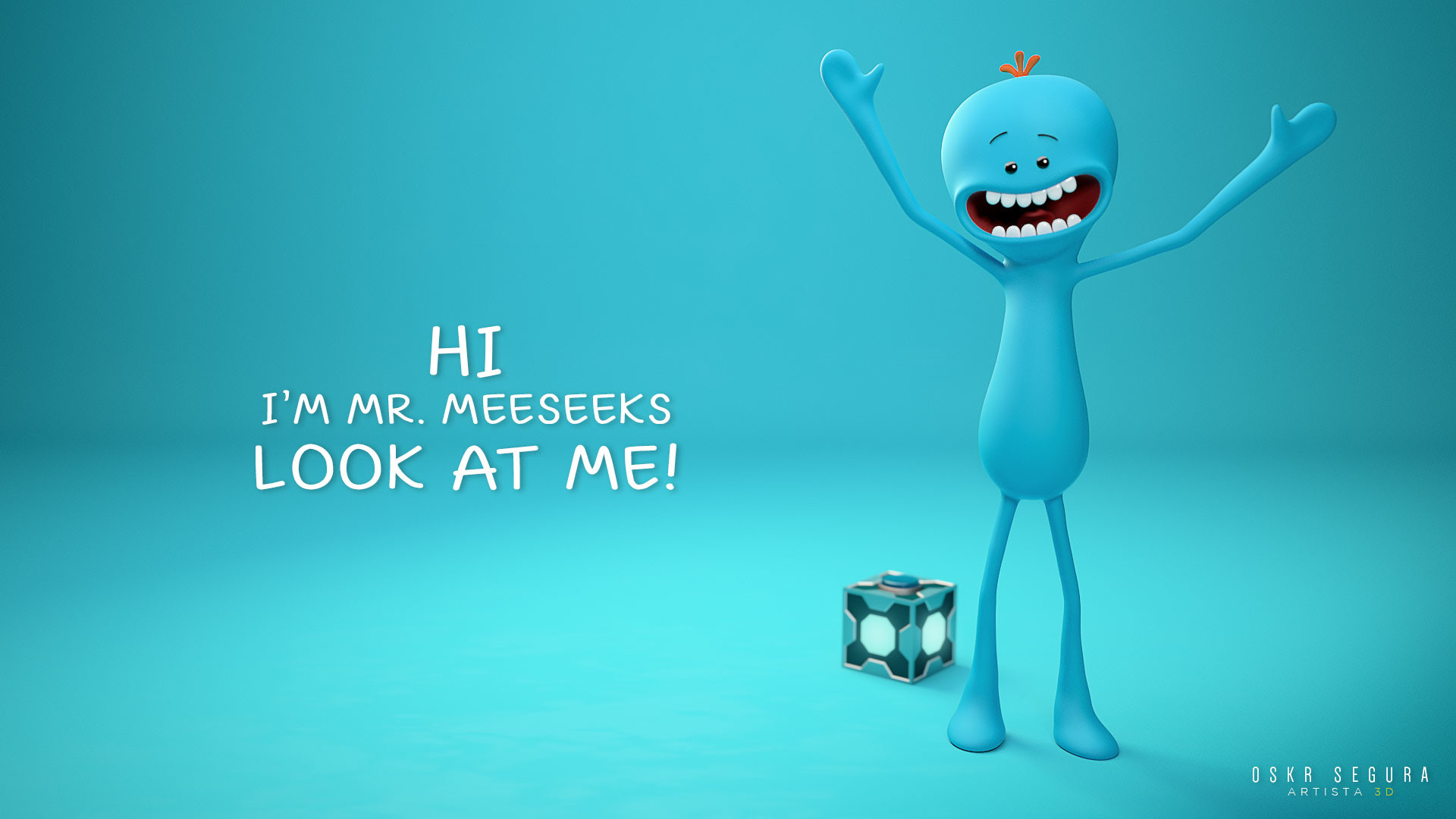 1920x1080 Mr Meeseeks Laptop Full HD 1080P HD 4k