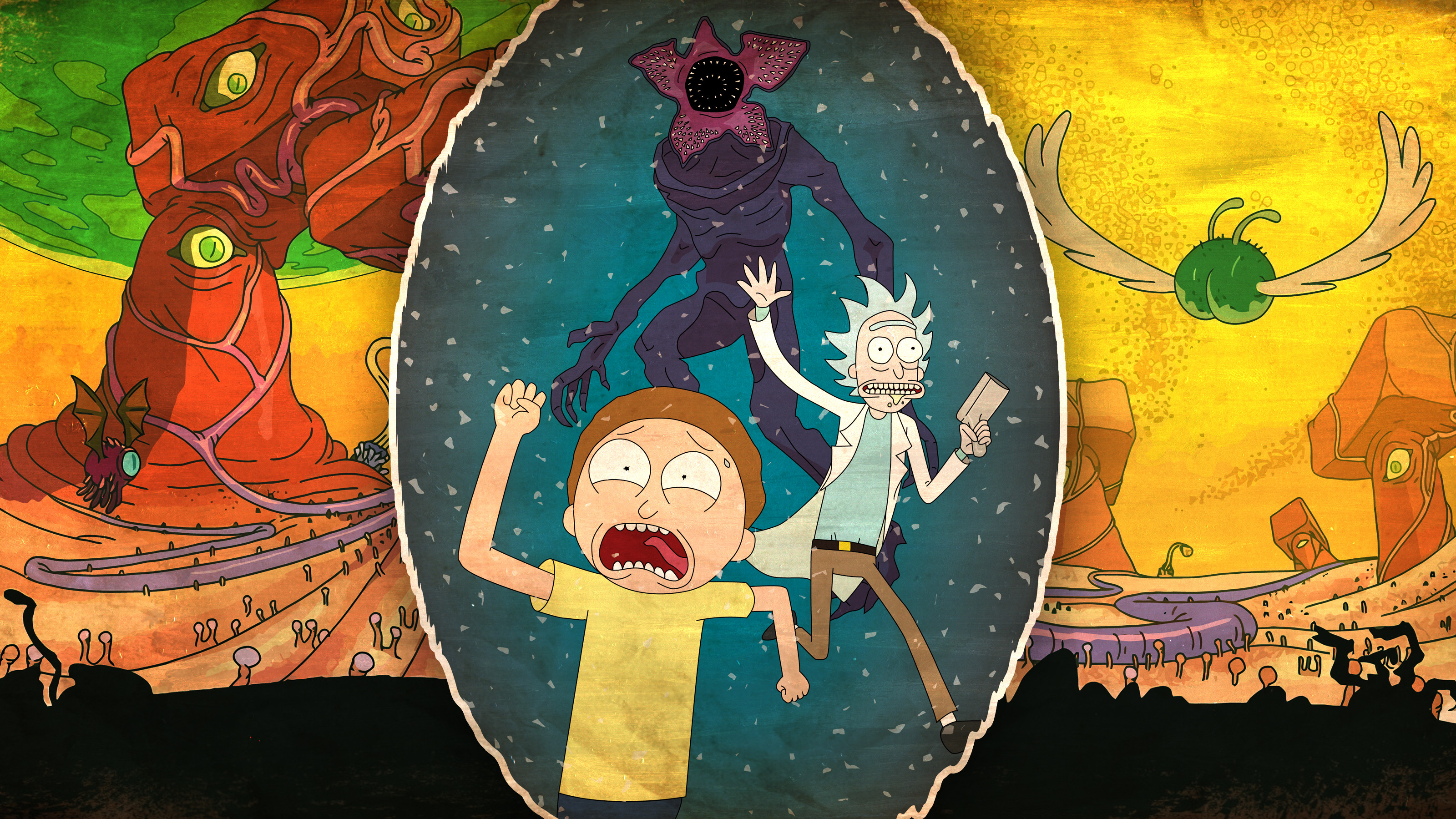 Rick And Morty 4k  HD Cartoons  4k Wallpapers  Images  Backgrounds     Rick And Morty 4k