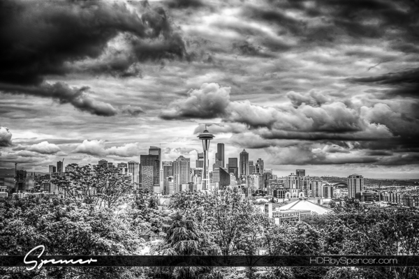 Before and After: Dramatic Seattle Skyline