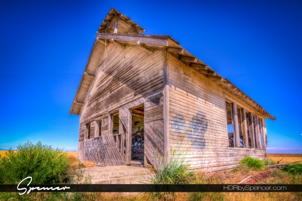 Abandoned School House in Eastern Washington