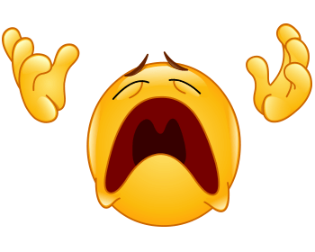 Angry accusations emoticon