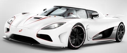 mobil cepat Koenigsegg Agera R
