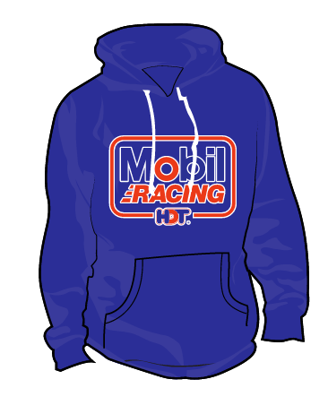 Pre-order: Bundle Special Retro Mobil HDT Racing T-shirt and Hoodie