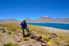 15,000 feet in the Andes