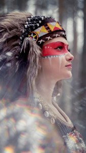 Tribal beauty photography iPhone 6 Plus Wallpaper