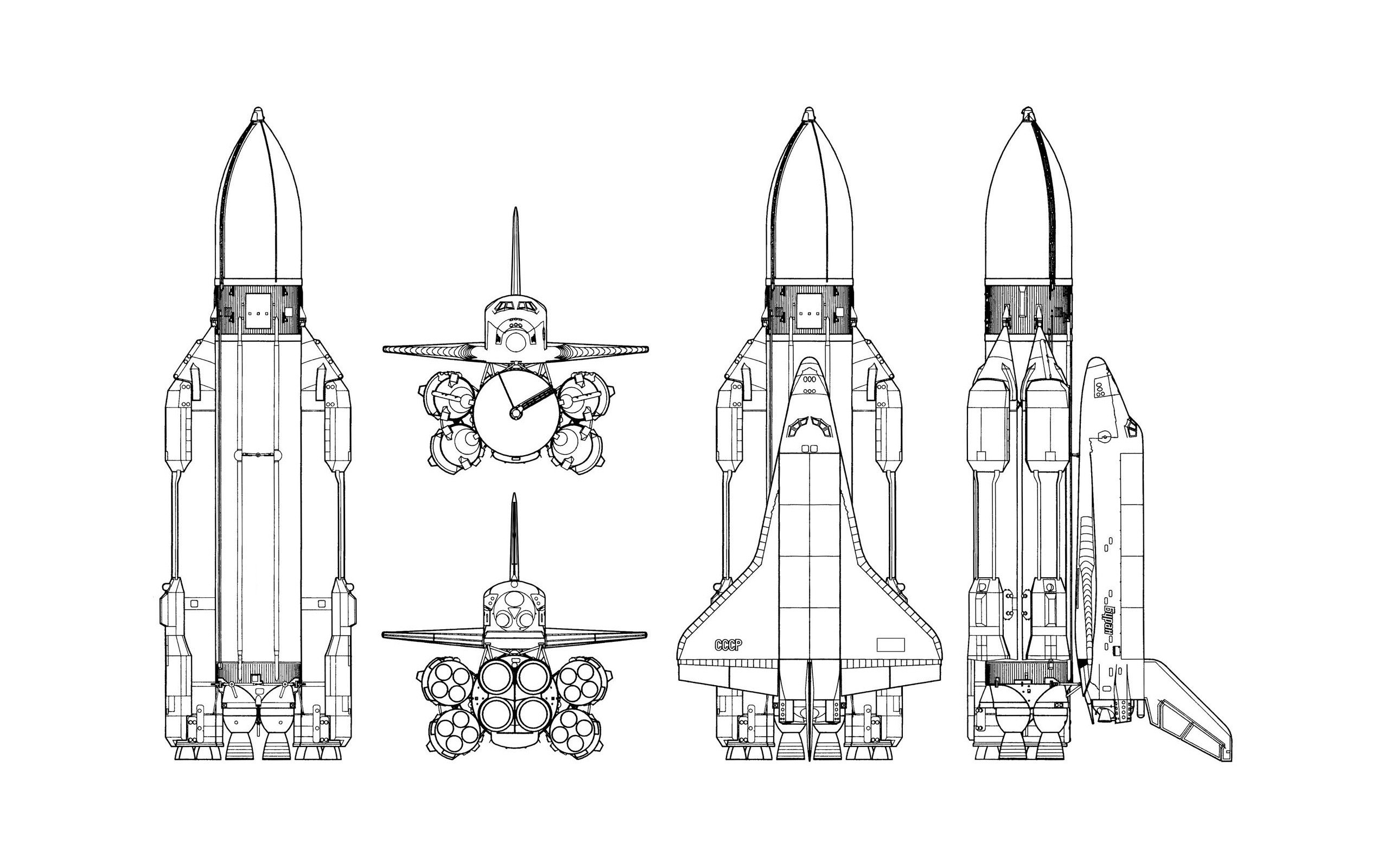 Space Shuttle Ussr Rockets Simple Background Schematic Buran Hd Wallpapers Desktop And