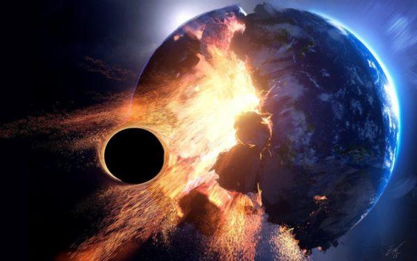 3D Space Planet Destruction HD Wallpapers Desktop and
