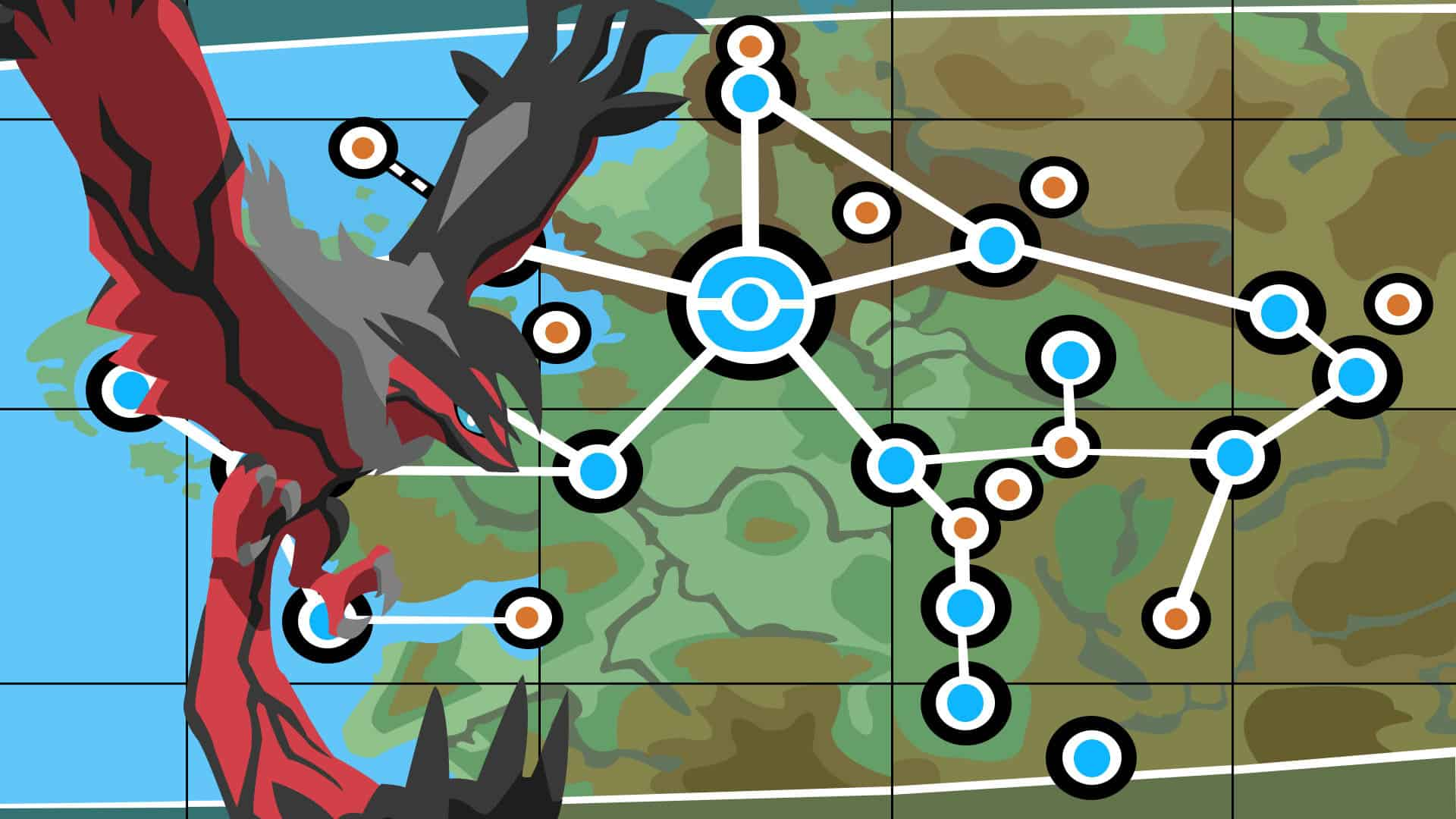 Yveltal & Kalos Map - HD Wallpapers on nintendo world map, fiore map, avalanche map, cricket map, human map, kanto map, sinnoh map, colorado map, helen of troy map, ssr map, pylos greece map, suburban map, tracker map, lumiose city map,