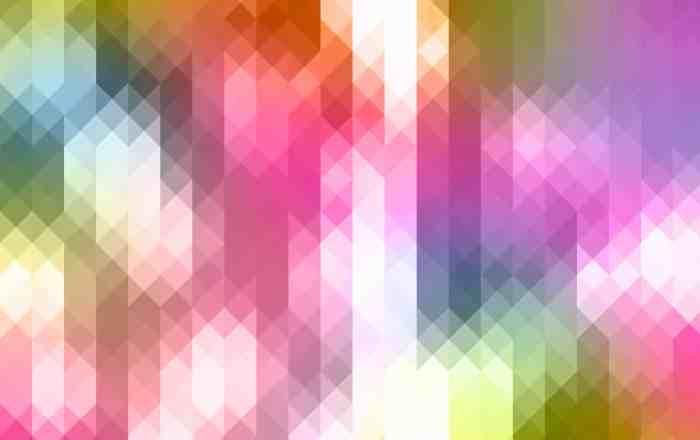 Vibrant-Triangle-Pixels