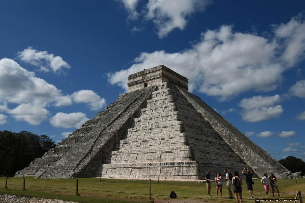 Kukulcan Pyramid Hd Wallpapers