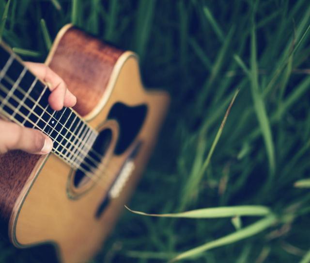 Acoustic Guitar Hd Wallpaper 58783