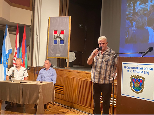 Kandidat HDZ-a Marijan Kustić predstavio program u Senju