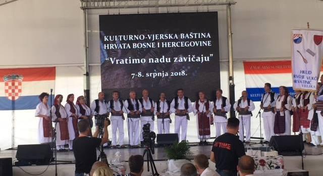 (VIDEO i FOTO) Zavičajni susret Hrvata Bosne i Hercegovine