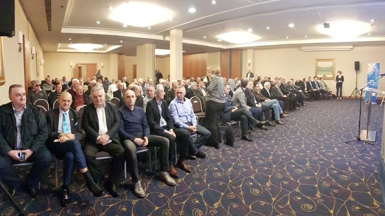 Izborna skupština Zajednice branitelja HDZ-a Gojko Šušak Grada Zagreba
