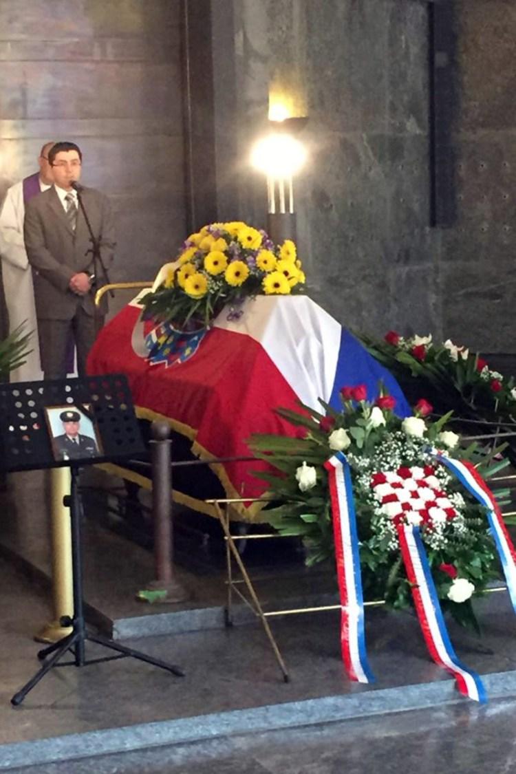 Zoran Piličić na posljednjem ispraćaju Marka Oreškovića