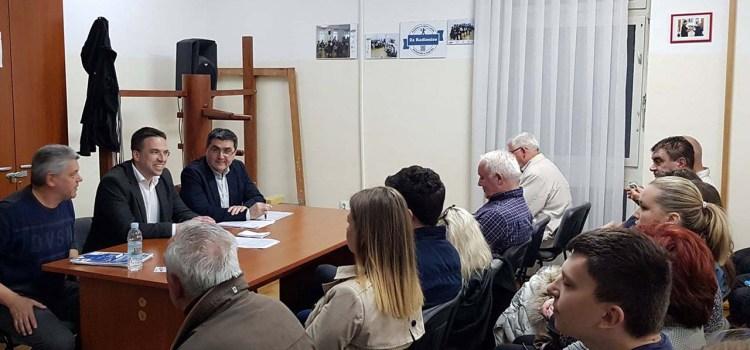 Tomislav Sokol na predizbornom sastanku u OGČ Podsused-Vrapče