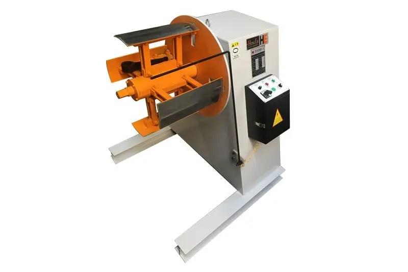 manual decoiler