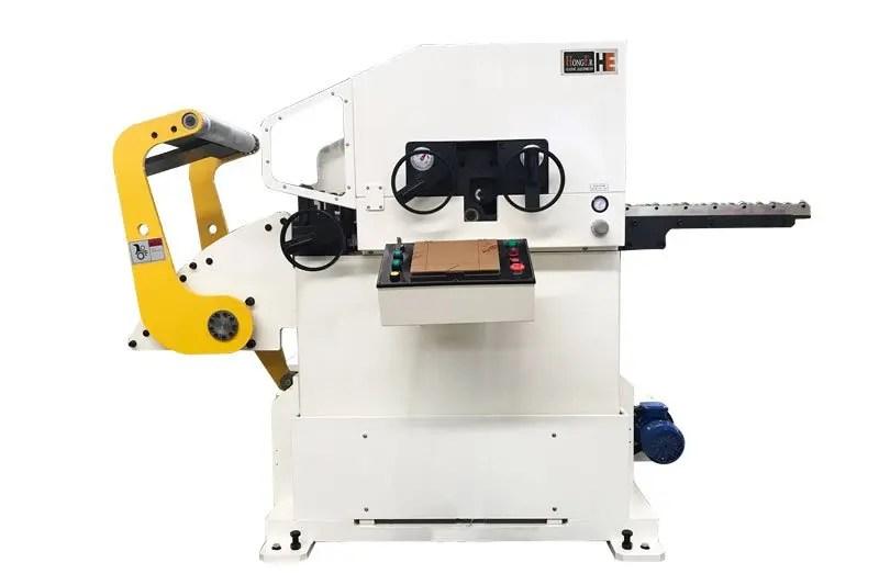 straightener-feeder-part-of-glk3-uncoiler straightener and feeder machine