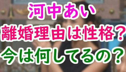 河中あい(袴田吉彦元妻)は性格が悪くて離婚?現在の職業や会社を調べてみた