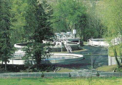 Station d'épuration à boues activées 12 500 E.H. HEA Pau 64