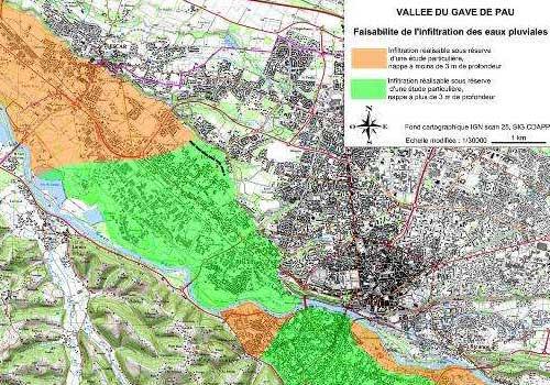 Schéma directeur eaux pluviales d'agglomération HEA Pau 64