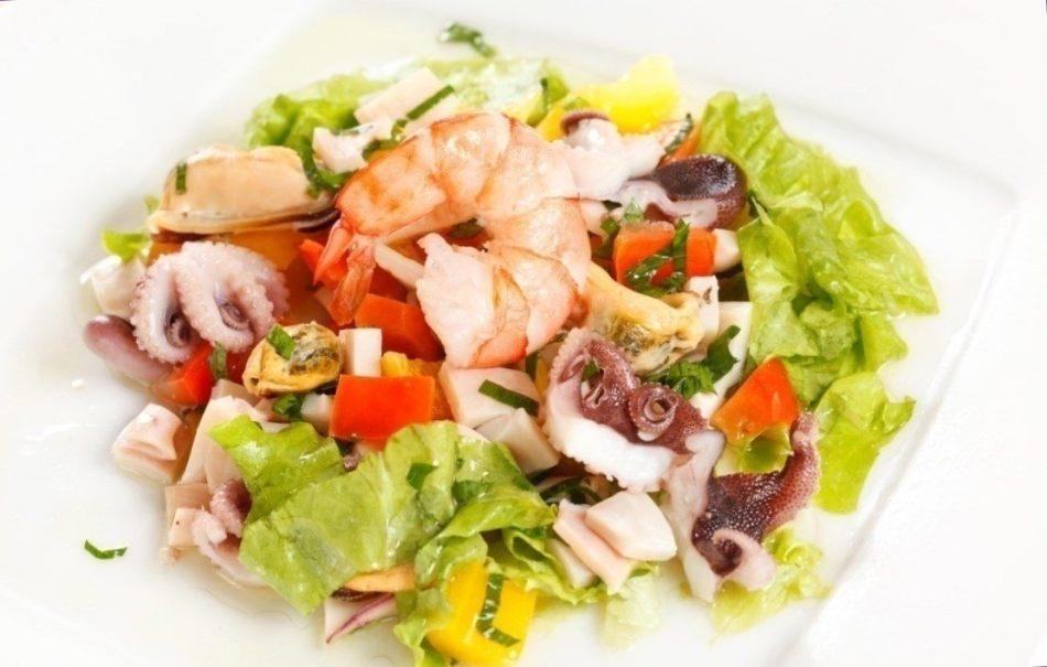 Морской салат