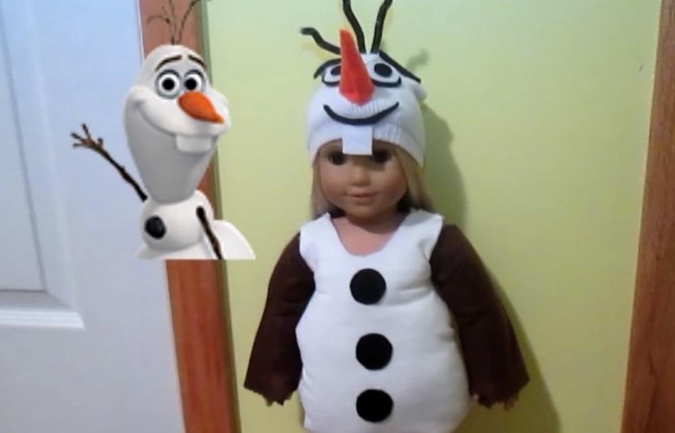 Костюм снеговика своими руками