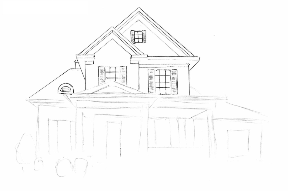 Как-нарисовать-красивый-дом1