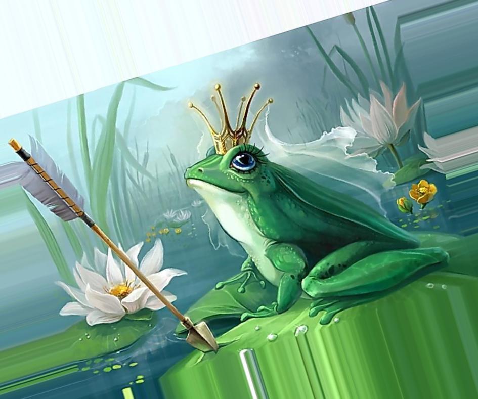 Картинки к сказке царевна лягушка цветные на весь экран