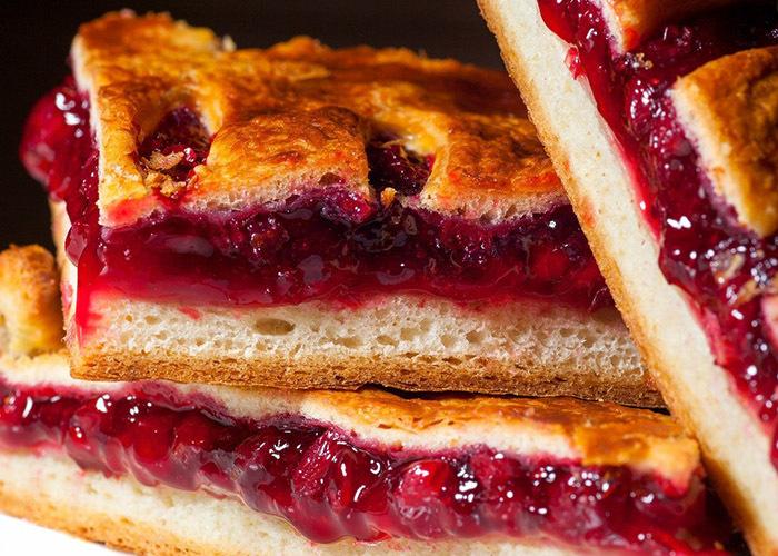 просто стиле клюквенный пирог рецепт с фото фишку уже