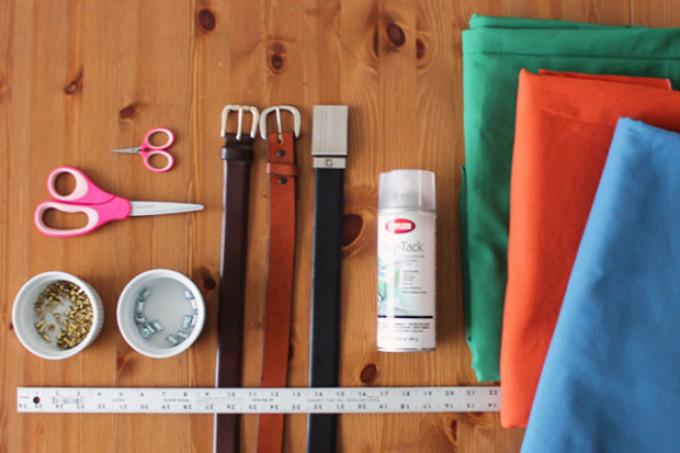 Materialen en hulpmiddelen voor de vervaardiging van dozen