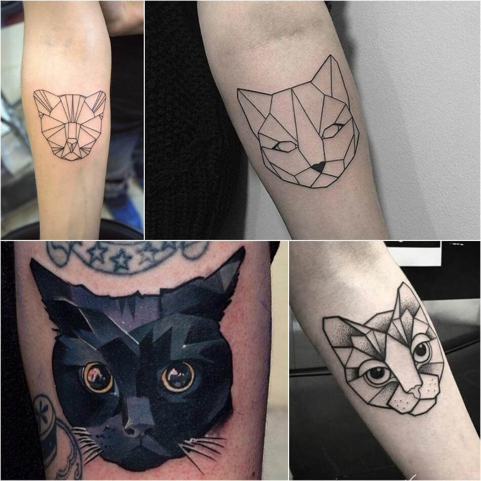 что означает татуировка кота на теле история наколка кот ее