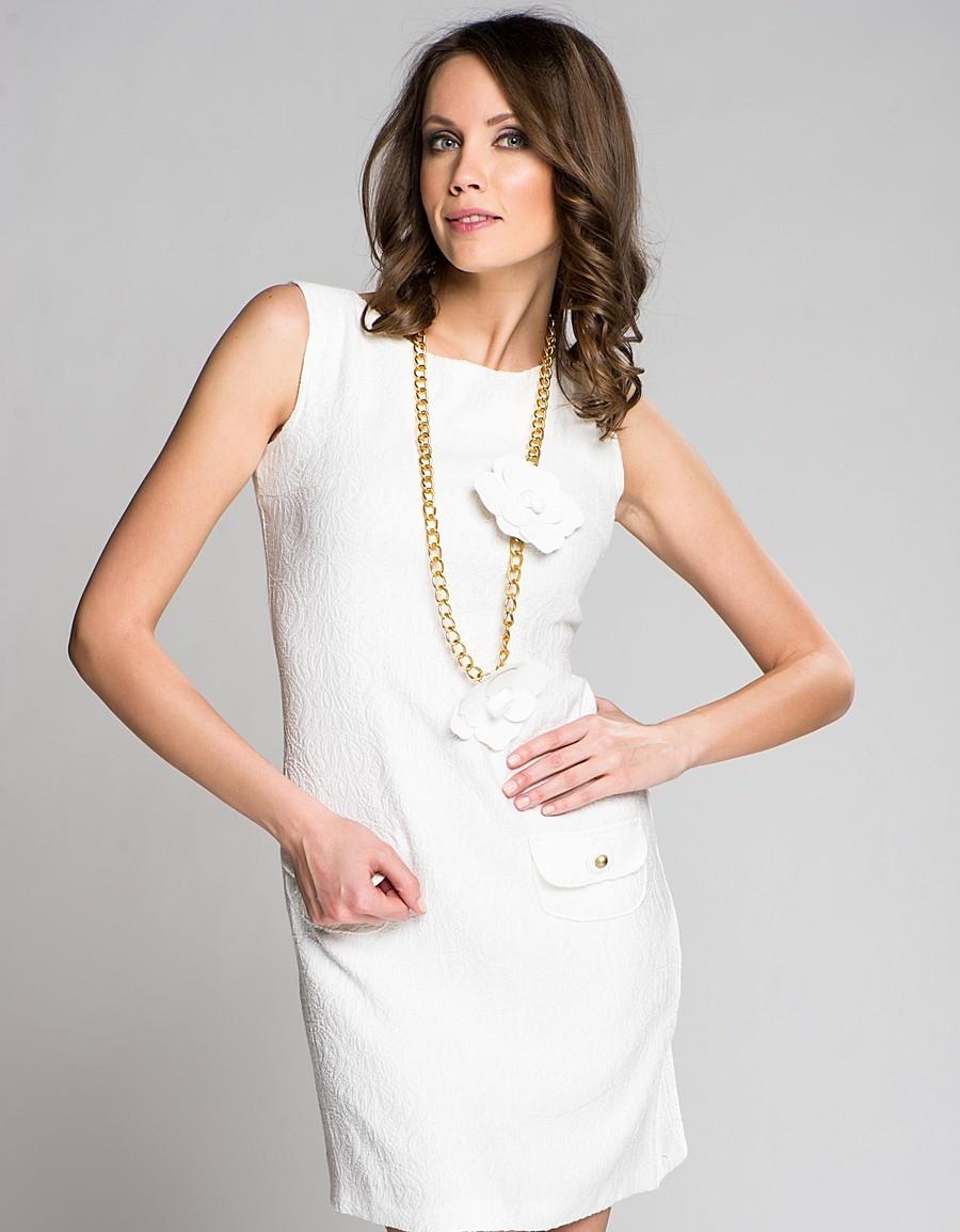 аксессуары к длинному белому платью фото