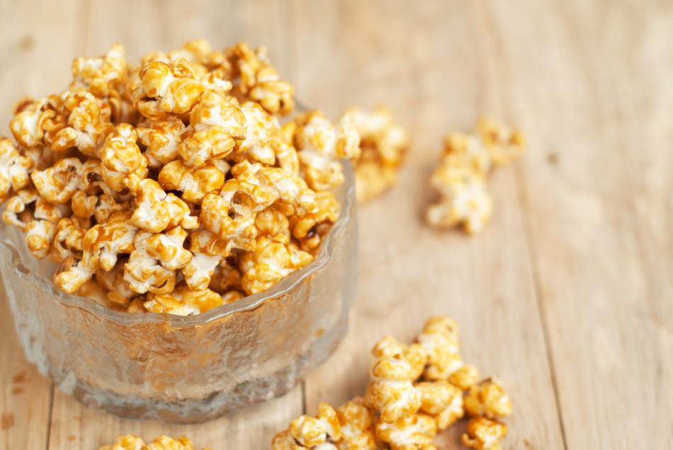 Caramel popcorn doma