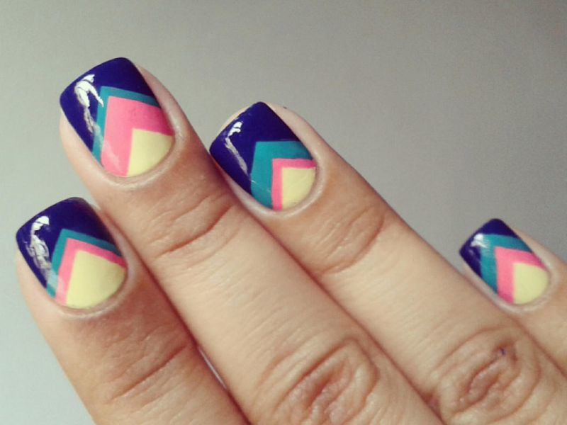 Ideer Manicure-on-Short-Nails