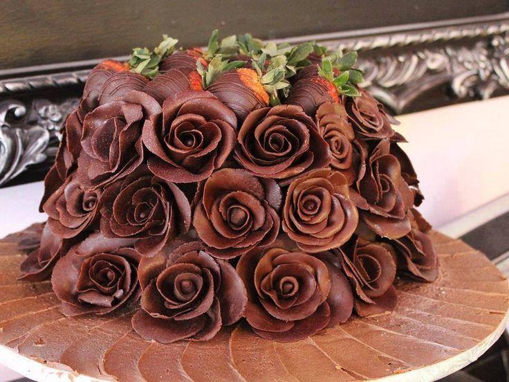 Csokoládé rózsák