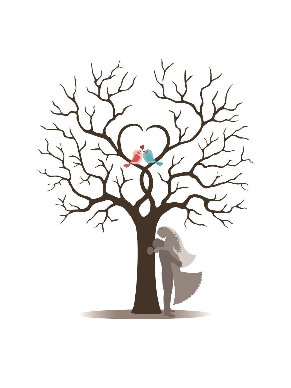 шаблон дерева пожеланий своими руками живых сидят