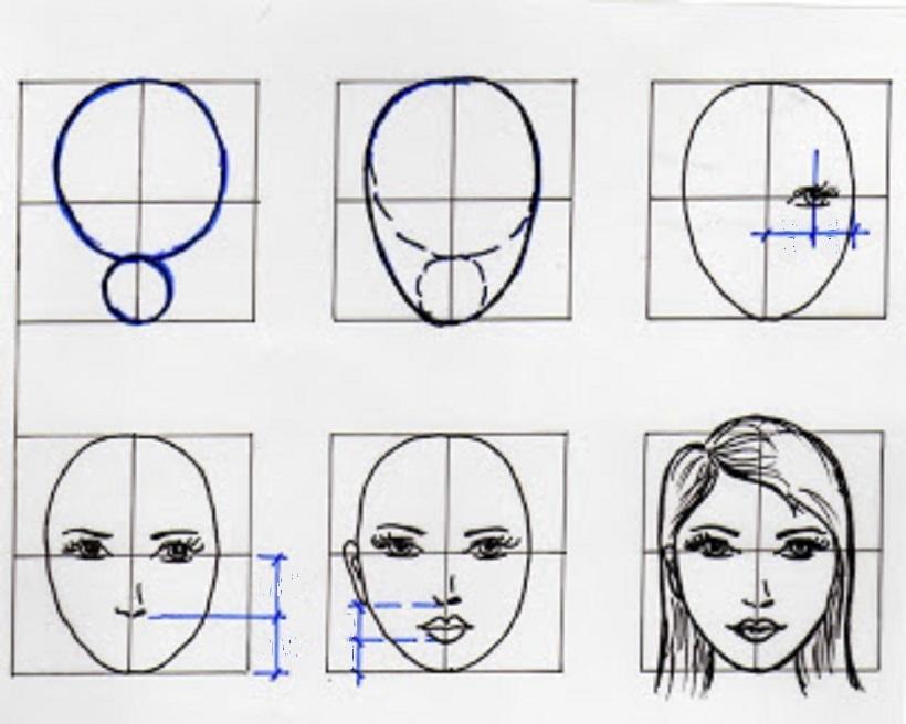 прекрасна учимся рисовать людей по картинками занимается изучением медиа